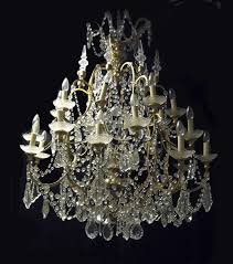 venetian rock crystal chandelier