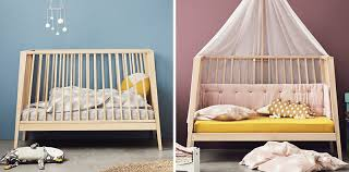 modern nursery furniture. This Transitional Modern Nursery Furniture Is Baby Cot That Transforms Into A Small Day Bed Or
