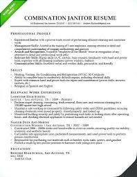 Janitorial Cover Letter Best Janitor Resume Duties Cover Letter Weekend Sample Download Job 48
