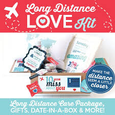 long distance relationship gifts kit