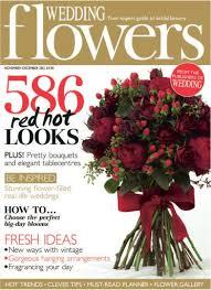 wedding flowers magazine nov dec 2016