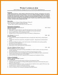 Pharmacy Resume Samples Community Pharmacist Resume Examples Cool Collection Pharmacist