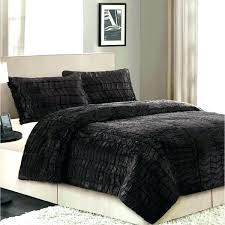 faux fur bedding set bed good queen size for your bohemian duvet better homes and gardens faux fur bedding