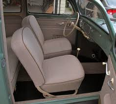 stock interior for an oct 52 53 beetle would have been the german grey brown herringbone