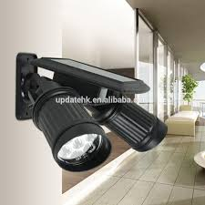 Zonne Energie Spot 14 Led Dual Head Spotlight Met Pir Bewegingssensor Trigged Muur Beveiliging Licht Buy Solar Dual Hoofd Spotssolar Pir Sensor