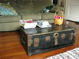 coffee tables diy chest table small trunk uk steamer vintage set st