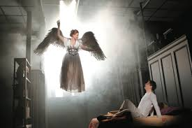 angels on the verge the new yorker robin weigert and christian borle in a new staging of ldquoangels in america rdquo