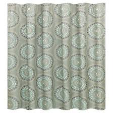 green and gray shower curtain. medallion shower curtain gray/turquoise - room essentials™ green and gray m