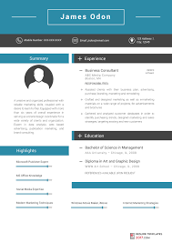 Business Resume Template Unique Marketing Resume Template