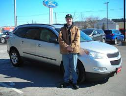 congratulations to shawn from augusta on the purchase of your 2010 chevy traverse john gousse and the rest of the team at quirk ford of augusta would like