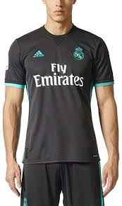 True fans will love supporting spain's top club with a real madrid jersey from soccerpro.com. Amazon Com Adidas Real Madrid 2017 18 Away Shirt Clothing