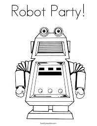 Small Picture Robot Coloring Pages Make Coloring Book Pages From Photos Page
