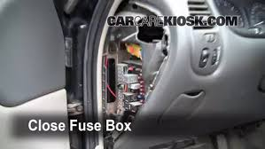 interior fuse box location oldsmobile alero  interior fuse box location 1999 2004 oldsmobile alero 2000 oldsmobile alero gl 3 4l v6 sedan 4 door