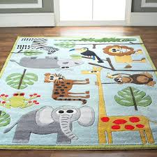 kids animal rug playtime world continent map educational multi area furniture direct ny
