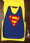 homemade superhero cape