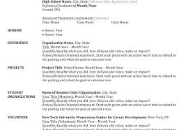 Resume En Resume Career Resumes 3 56 Image Example Of A Written