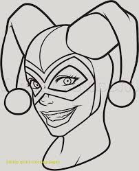 harley quinn coloring pages printable awesome 30 lovely harley quinn coloring pages for s