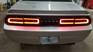 2014 Challenger Lights Retrofit 2015 2017 Tail Lights Onto 2013 Challenger Dodge