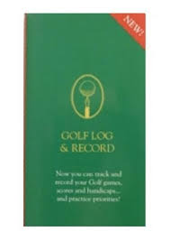 golf log golf log record 0862819288 409635409