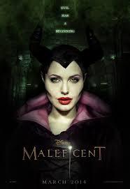 maleficent makeup poster