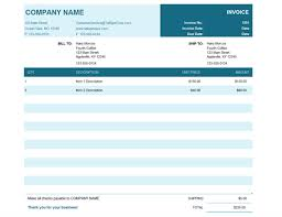 Basic Invoice Template Microsoft Word Invoices Office Com