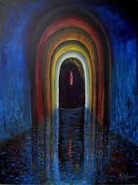 lord shiva path to enlightenment painting 48x36 in 2004 by aijaz qaisar
