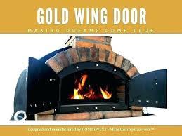 pizza oven doors cast iron door temperature