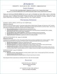 Administrative Assistant Objective Resume Examples Examples Of For