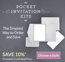 Cards Pockets Diy Wedding Invitation Supplies