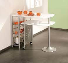 Table De Cuisine Contemporaine Modulable Blanche Sacha Real Wood