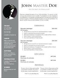 Free Word Document Download Resume Template Download Download Free Format In Ms Word Co