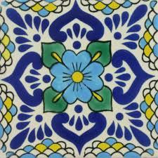 Decorative Tile Designs Especial Decorative Tile Lluvia Turquesa Mexican Tile Designs 54