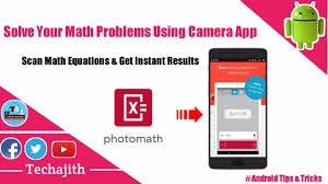 photomath this app solve your handwritten math equations smart calculator