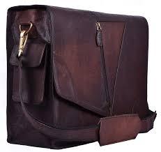 leather messenger bags for men women satchel shoulder laptop computer bags vintage brown 0