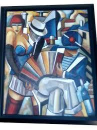 1930 Art-Deco,Tableaux art-deco Tableau 1930