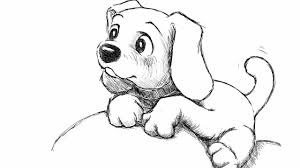 Small Picture Puppy Drawings Cute Puppies Drawings Puppy For Amazing