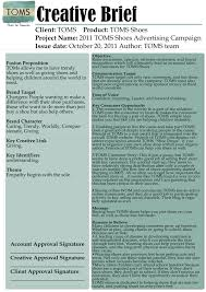 Project Brief Template How To Write A Creative Brief Three Templates Tons Of Examples 17