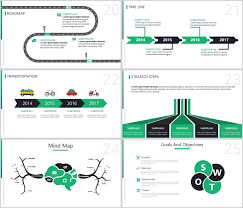 Power Point Time Line Template Octave Free Powerpoint Presentation Template Just Free Slides