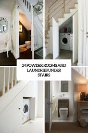 We don't have a biography for annika settergren yet. 24 Powder Rooms And Laundries Under Stairs Room Under Stairs Bathroom Design Laundry Room Design