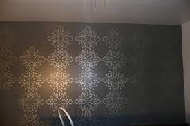 free interesting home interior wall design with metallic wall paint ideas beautiful image of dark grey with wall painting stencils flowers