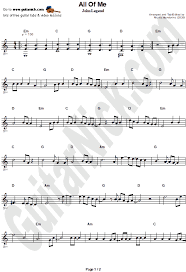 Browse our 104 arrangements of all of me. sheet music is available for piano, voice, guitar and 44 others with 25 scorings and 4 notations in 22 genres. All Of Me John Legend Easy Guitar Sheet Music Guitarnick Com