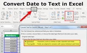 Convert Date To Text In Excel Top 3 Methods To Convert