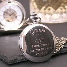 end wedding pocket watch gift