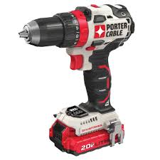 brushless drill. porter-cable pcck607lb 20v max brushless cordless drill driver, 1/2\