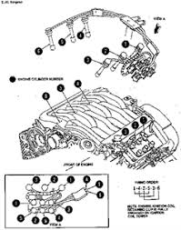 solved need spark plug wire diagram for 2 5 mercury fixya firing order and spark plug wire installation for the 2 5l engine