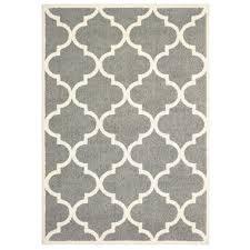 area rugs priebe lattice gray ivory area rug