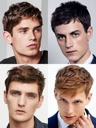 men s hairstyles haircuts for oblong rectangle face shapes