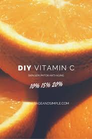 diy vitamin c serum for anti aging