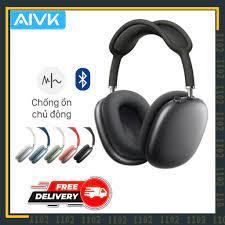 Tai Nghe Headphone Blutooth Chụp Tai Chống Ồn P9 - Tai nghe Bluetooth chụp  tai Over-ear