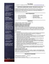 Teacher Resume Template Free Download Resume Examples